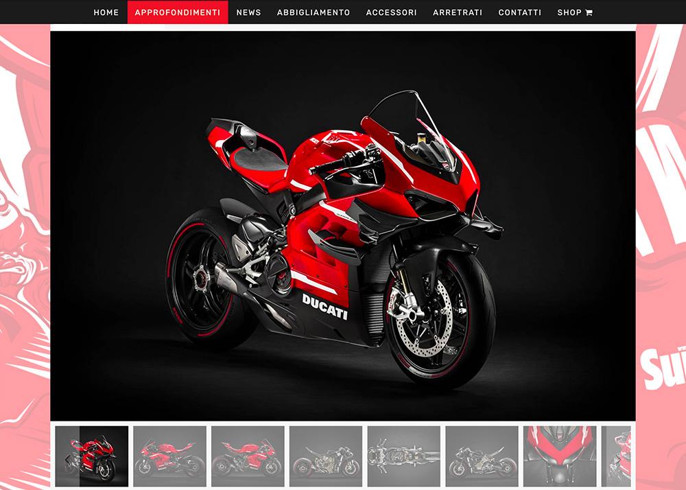 MotoADVenture ha realizzato il sito SuperBike italia