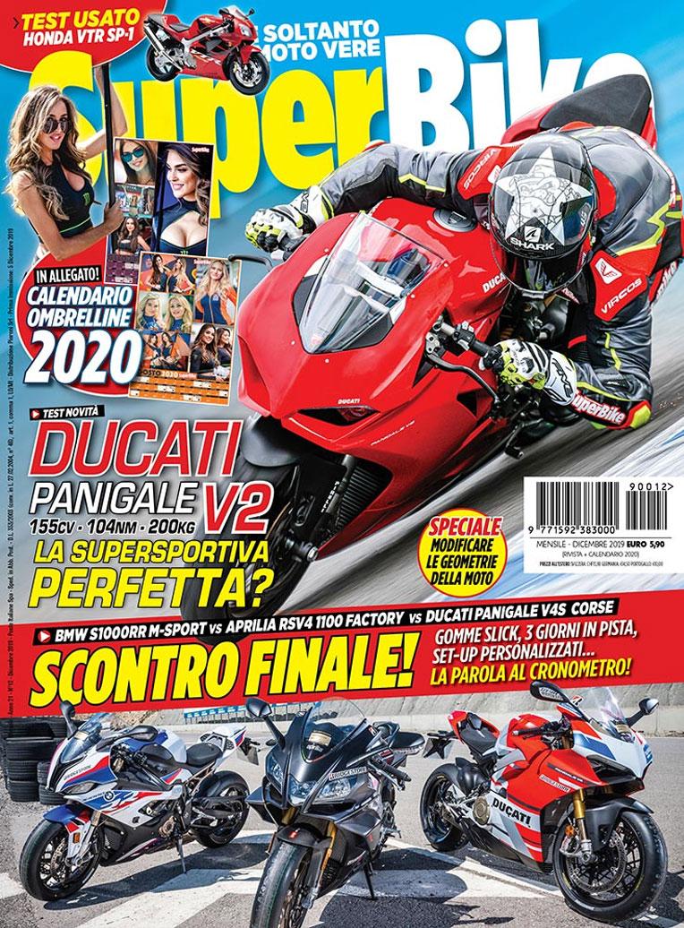 copertina Rivista SuperBike Italia
