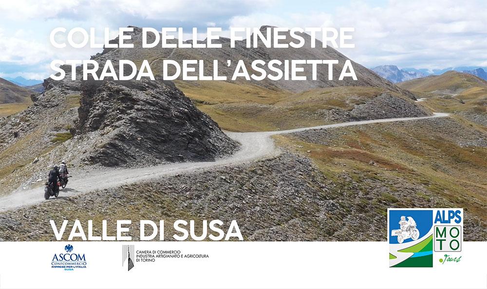 Colle delle Finestre e Strada dell'Assietta: la più lunga cavalcata in moto sulle Alpi