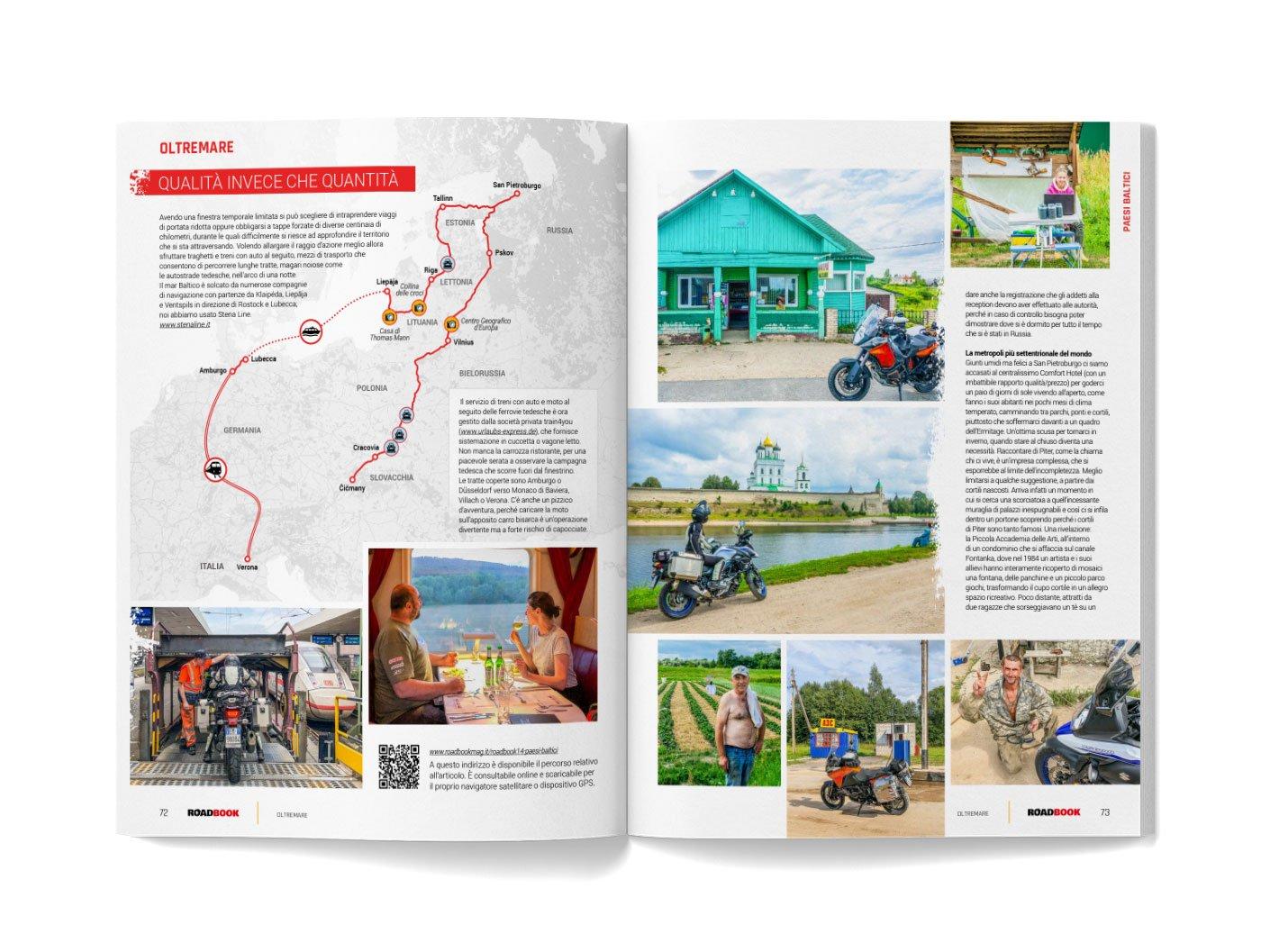 viaggio in moto in Europa centrale